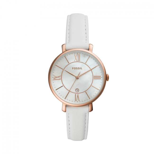 Hodinky FOSSIL - Jacqueline ES4579  White/Gold