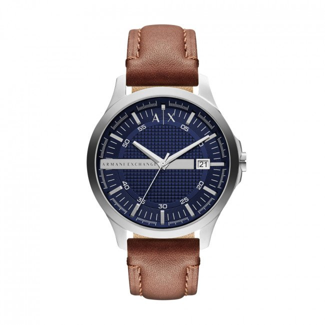 Hodinky ARMANI EXCHANGE - Hampton AX2133  Brown/Silver