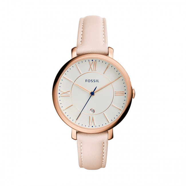 Hodinky FOSSIL - Jacqueline ES3988 Light Brown/Rose Gold