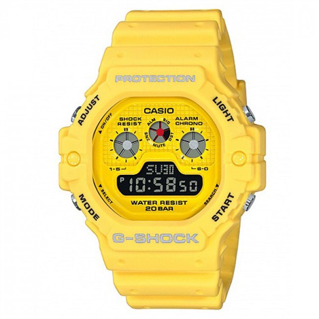 Hodinky G-SHOCK - DW-5900RS-9ER Yellow/Yellow