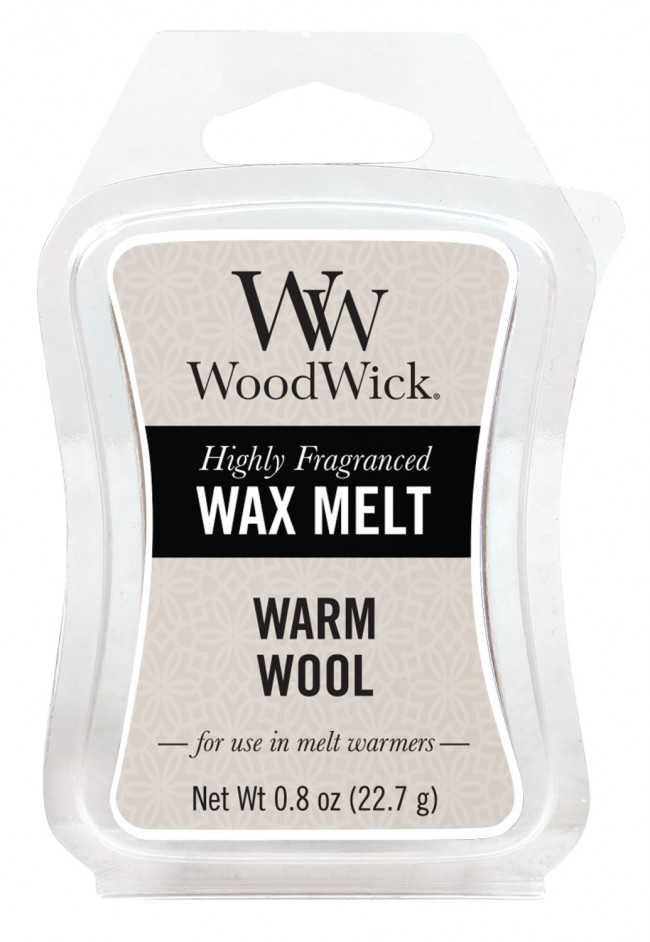 WoodWick vonný vosk do aromalampy Warm Wool