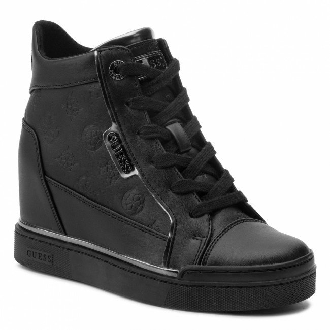Sneakersy GUESS - Fabia FL7FAB ELE12 BLACK