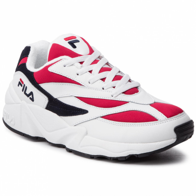 Sneakersy FILA - V94M Low 1010255.150 White/Fila Navy/Fila Red