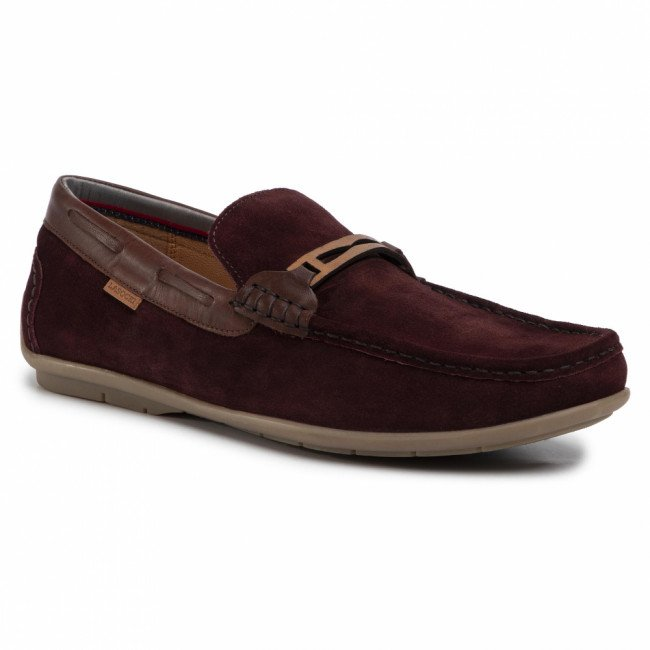 Mokasíny LASOCKI FOR MEN - MI08-C719-499-01 Maroon