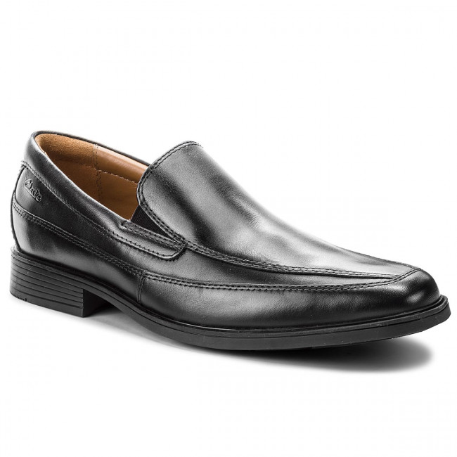 Poltopánky CLARKS - Tilden Free 261103127 Black Leather