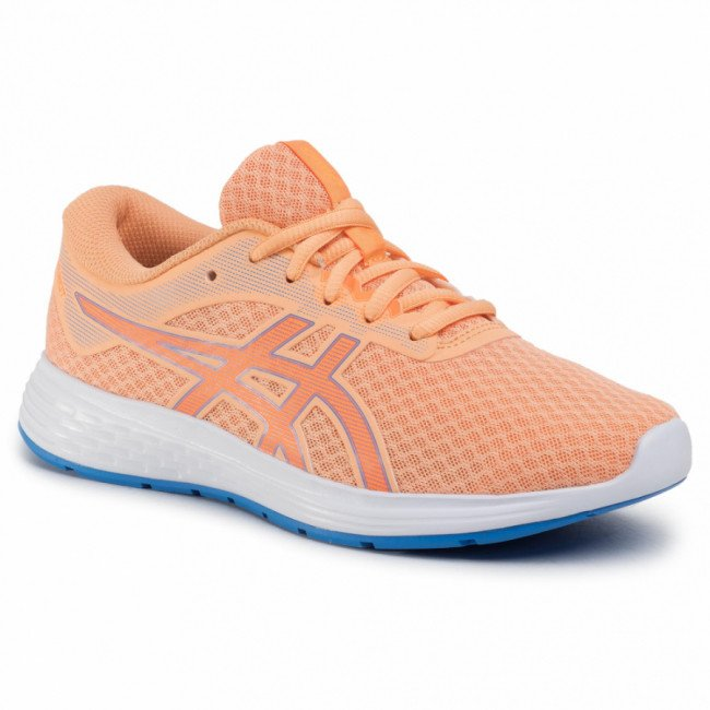 Topánky ASICS - Patriot 11 GS 1014A070 Summer Dune/Shocking Orange 800