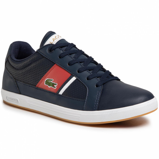 Sneakersy LACOSTE - Europa 120 1 Sma 7-39SMA0006144 Nvy/Red