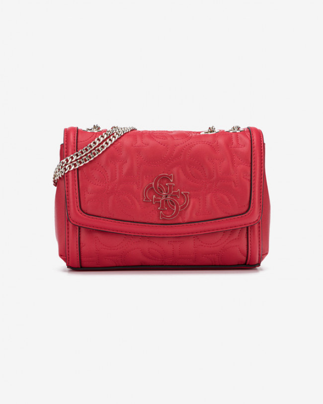 Guess New Wave Mini Cross body bag Červená