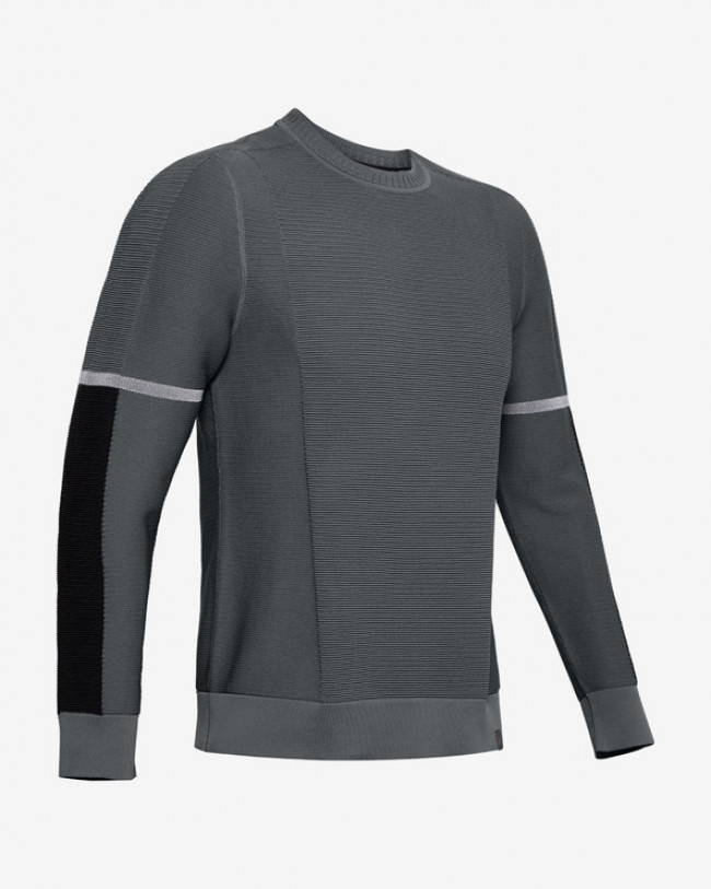 Under Armour IntelliKnit Phantom Mikina Šedá