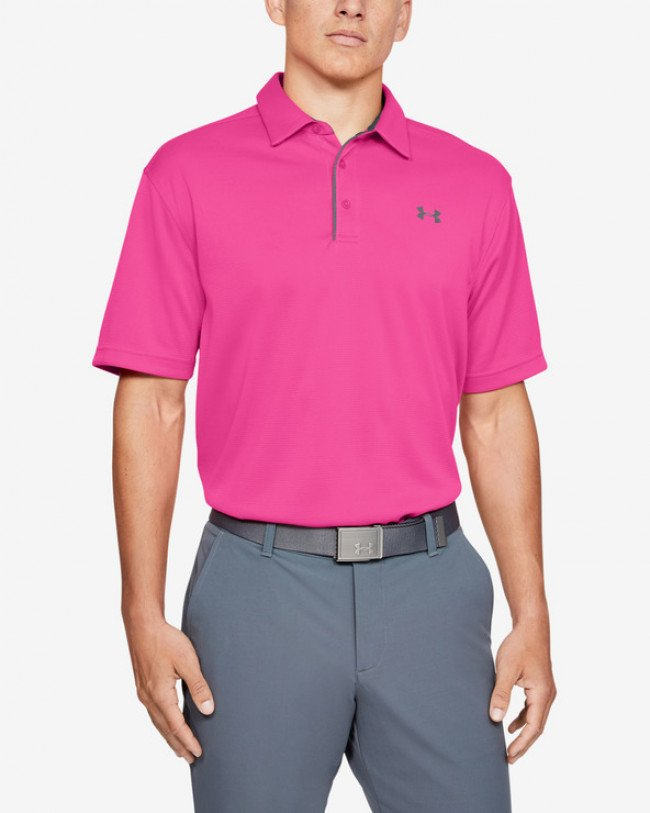 Under Armour Tech™ Polo tričko Ružová