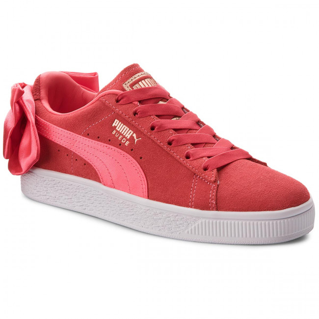 Sneakersy PUMA - Suede Bow Jr 367316 02 Paradise Pink/Paradise Pink