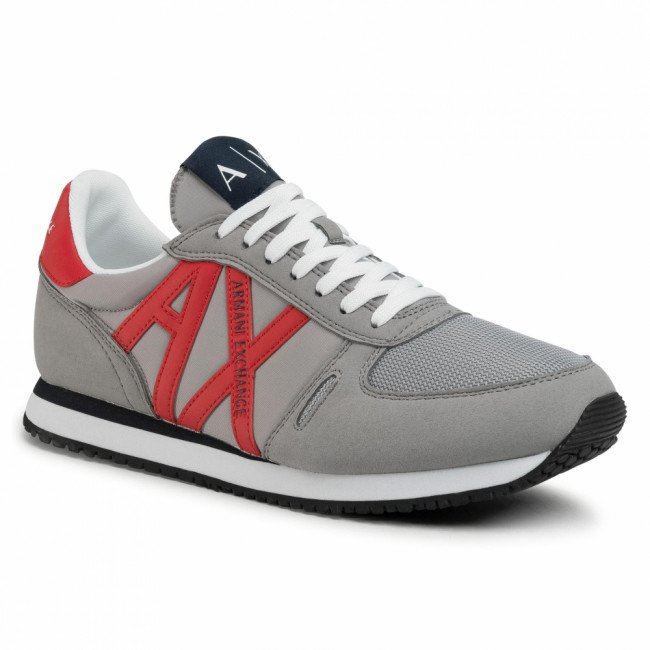 Sneakersy ARMANI EXCHANGE - XUX017 XV028 D289 Alloy/Red