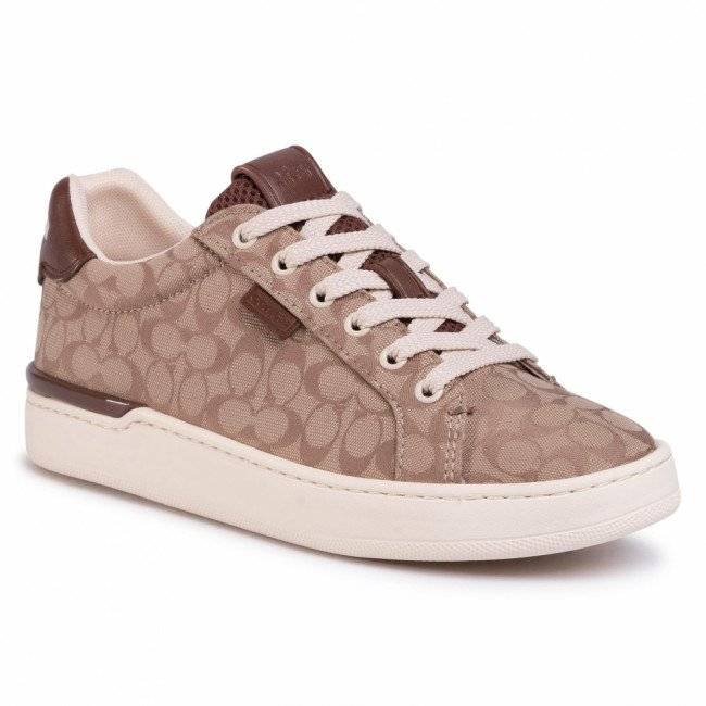 Sneakersy COACH - Lowline Sig Low Top G5037 10011275 Stone