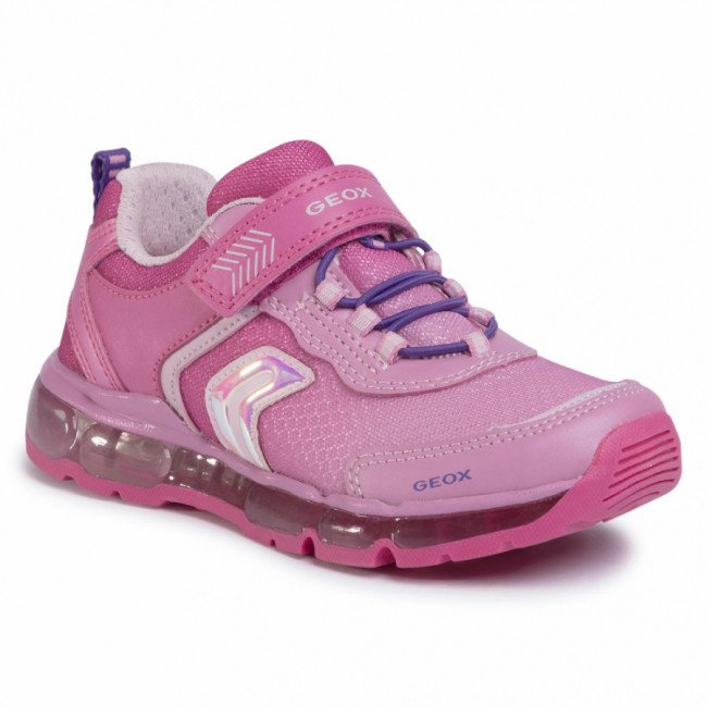 Sneakersy GEOX - J Android G. A J0245A 014AJ C8002 S Fuchsia