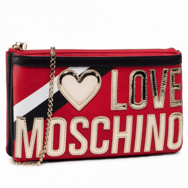 Kabelka LOVE MOSCHINO - JC4284PP0AKP150A Mix Rosso/Nero
