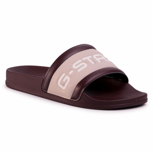 Šľapky G-STAR RAW - Cart Slide III D13909-3593-A856 Plum/Liquid Pink