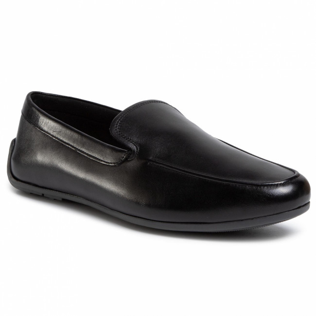 Poltopánky CLARKS - Reazor Plain 261487527  Black Leather