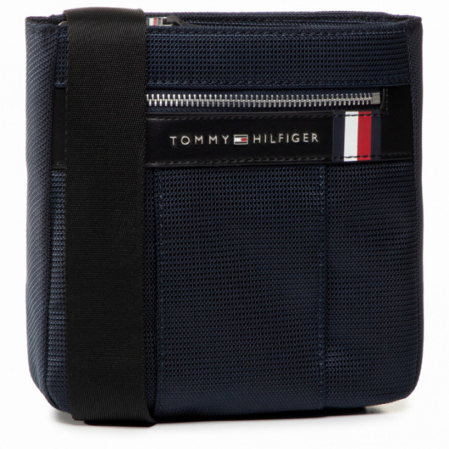 Ľadvinka TOMMY HILFIGER - Elevated Nylon Mini Crossover AM0AM05811 Night Blue 403