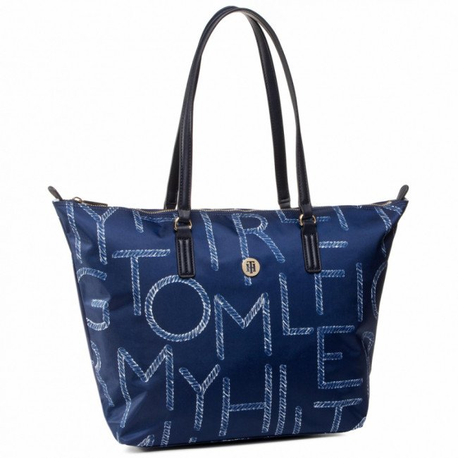 Kabelka TOMMY HILFIGER - Poppy Tote Rope AW0AW08339 0K4