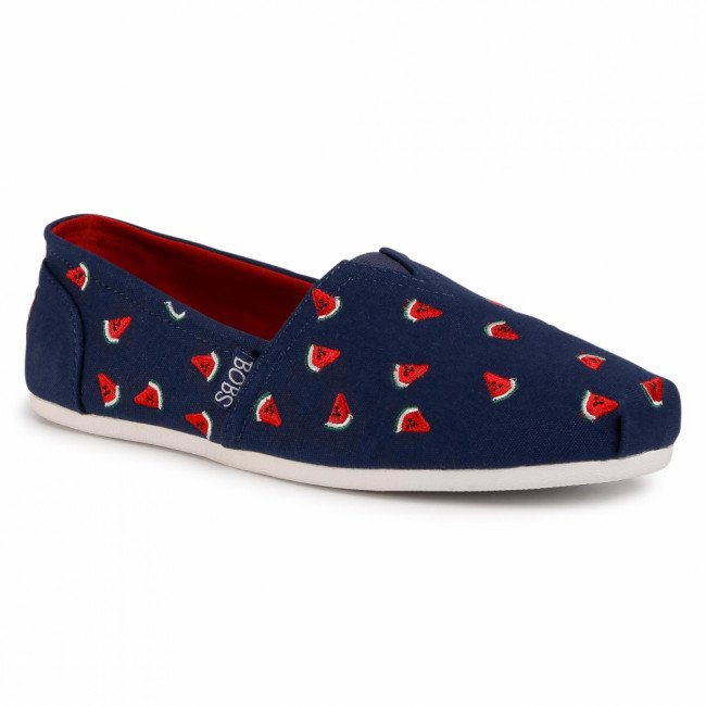 Poltopánky SKECHERS - BOBS Sellin' Melon 33340/NVRD Navy/Red