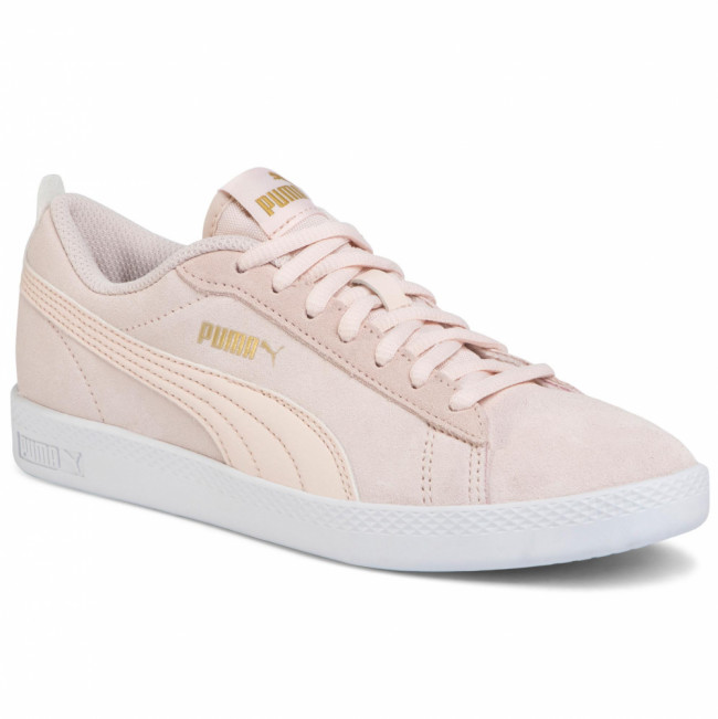 Sneakersy PUMA - Smash Wns V2 Sd 365313 23 Rosewater/Puma Team Gold/White