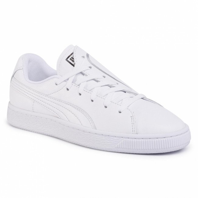 Sneakersy PUMA - Basket Crush Emboss Wn's 369595 01 Puma White/Puma Silver