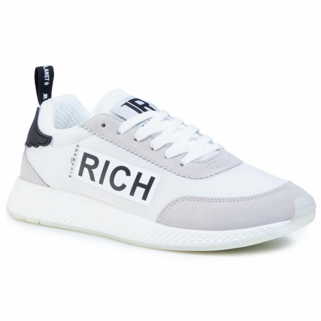 Sneakersy JOHN RICHMOND - 1323 B Bianco