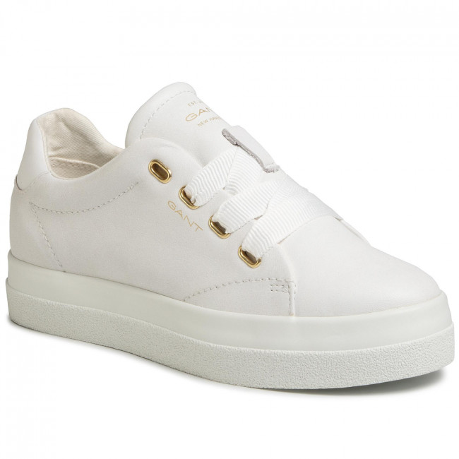 Sneakersy GANT - Avona 20531501  Bright White G290