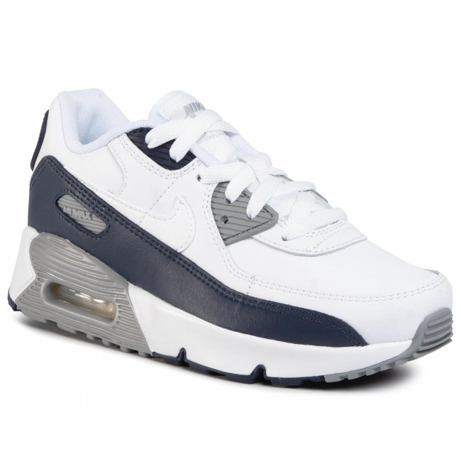 Topánky NIKE - Air Max 90 Ltr (Ps) CD6867 105 White/White/Particle Grey