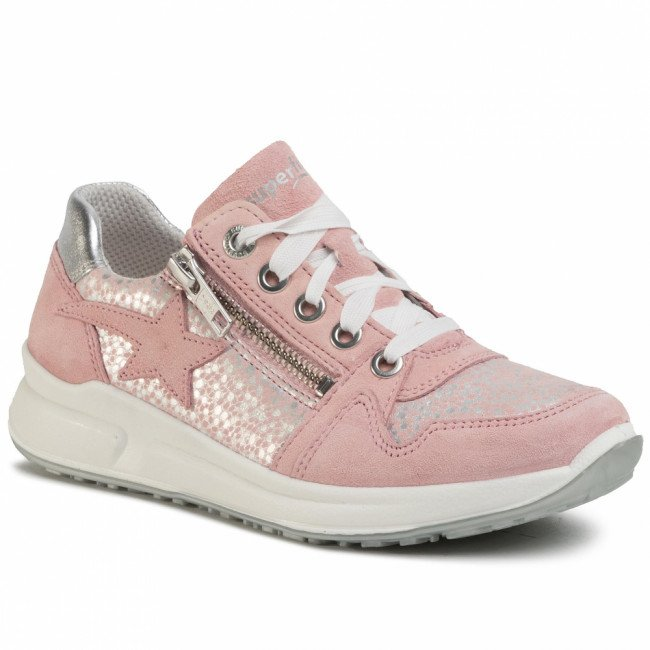 Sneakersy SUPERFIT - 0-606185-5500 S Rosa