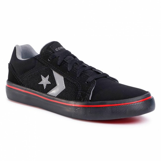 Tenisky CONVERSE - El Distrito 2.0 Ox 167124C Black/Mason/University Red