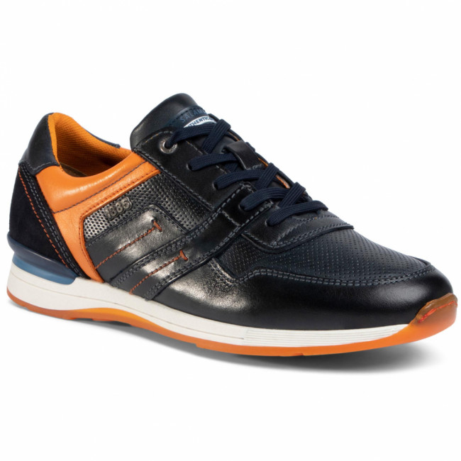 Sneakersy SALAMANDER - Avato/G 31-56201-14 Navy/Orange