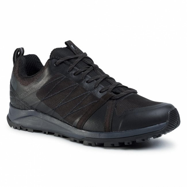 Trekingová obuv THE NORTH FACE - Litewave Fastpack II Wp NF0A4PF3CA0 Tnf Black/Ebony Grey