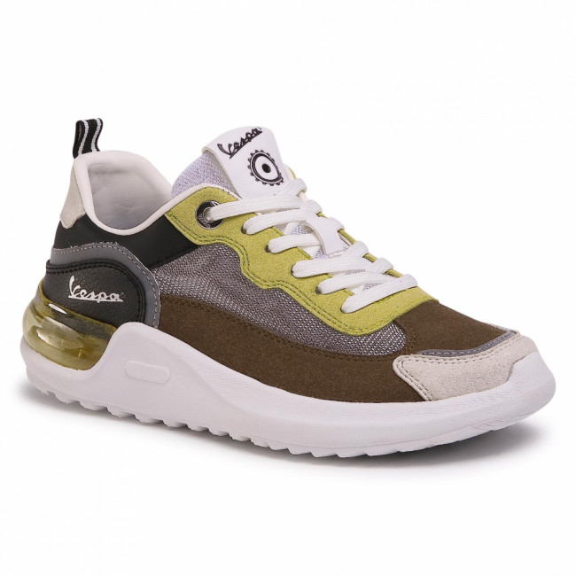 Sneakersy VESPA - Bubble V00093-321-8099 Khaki/Black