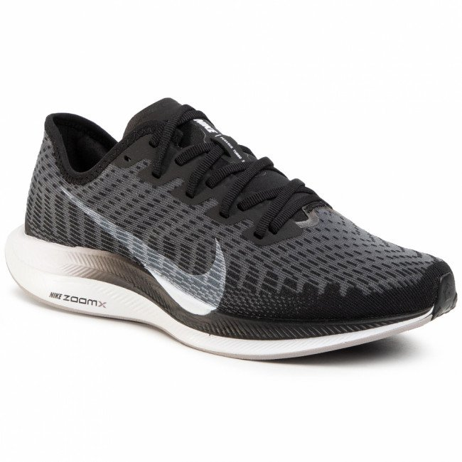 Topánky NIKE - Zoom Pegasus Turbo 2 AT8242 001 Black/White/Gunsmoke