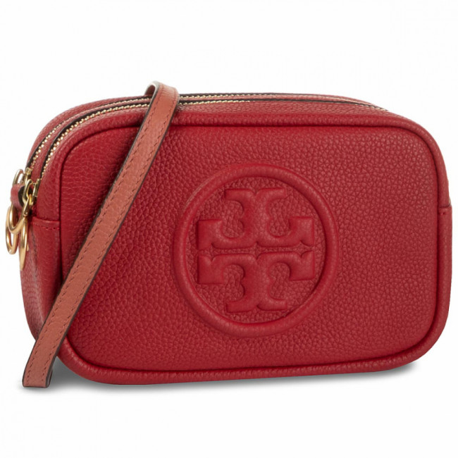 Kabelka TORY BURCH - Perry Bombe Mini 55691  Red Apple 633