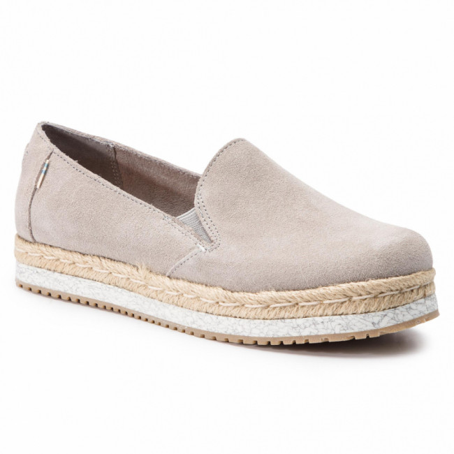 Espadrilky TOMS - Palma 10013369 Drizzle Grey Suede