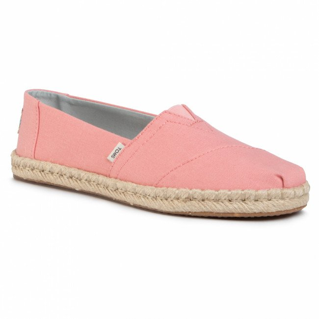 Espadrilky TOMS - Classic 10015058 Plant Dyed Pink