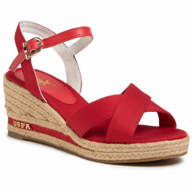 Espadrilky U.S. POLO ASSN. - Madelyn Rope AGATA4088S0/CY2 Red