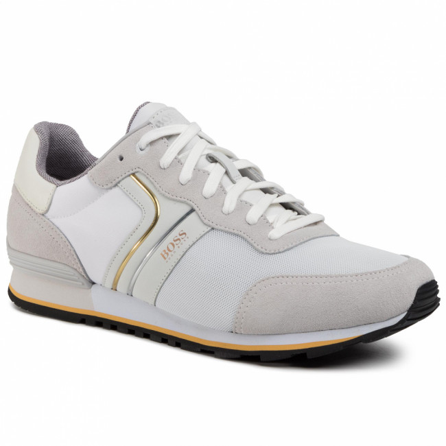 Sneakersy BOSS - Parkour 50433661 10214574 01 Natual 107