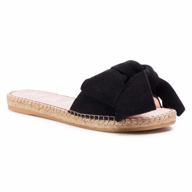 Espadrilky MANEBI - Sandals With Bow K 1.0 J0  Black 1