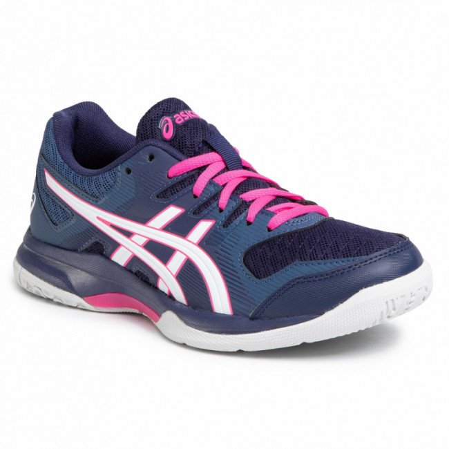 Topánky ASICS - Gel-Rocket 9 1072A034 Peacoat/White 401