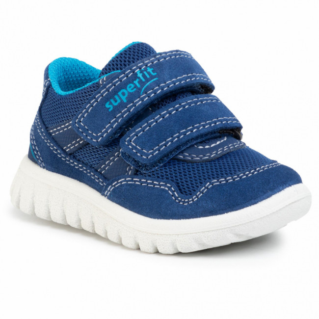 Sneakersy SUPERFIT - 0-609191-8100 M Blau/Blau