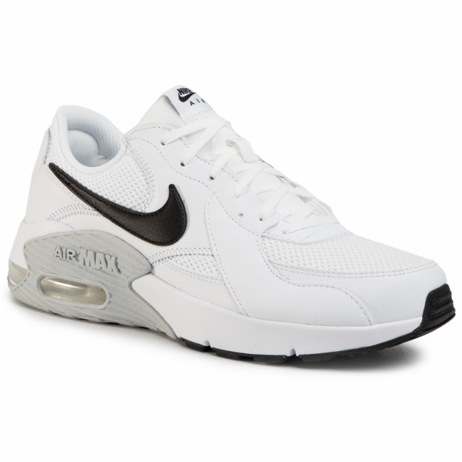 Topánky NIKE - Air Max Excee CD4165 100 White/Black/Pure Platinum