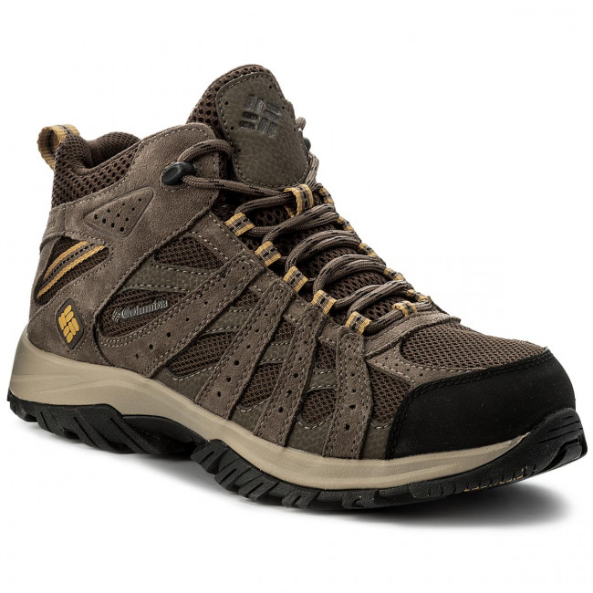 Trekingová obuv COLUMBIA - Canyon Point Mid Waterproof YM5415 Cordovan/Dark Banana 231