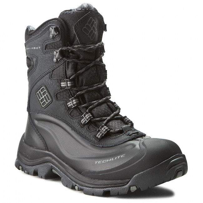 Snehule COLUMBIA - Bugaboot Plus III Omni-Heat BM1620 Black/Charcoal 010