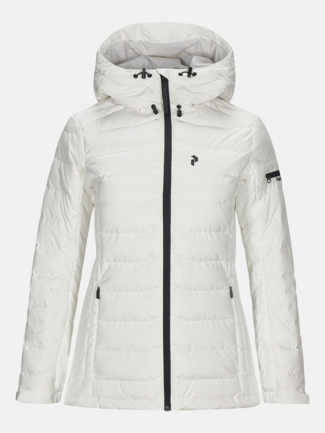 Bunda Peak Performance W Black J Active Ski Jacket - Biela