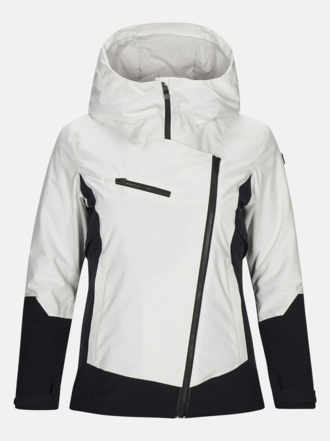 Bunda Peak Performance W Scootj Active Ski Jacket - Biela
