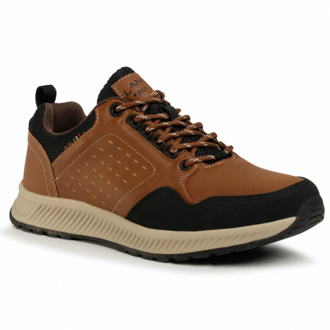 Sneakersy LANETTI - MP07-91357-01 Brown