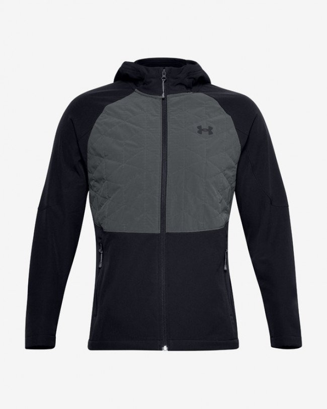 Under Armour Reactor Hybrid Lite Bunda Čierna Šedá
